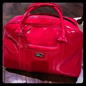 Flaunt By Faith Nicole Red Duffle Bag/Tote